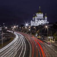 Ночная фотосъемка городского пейзажа